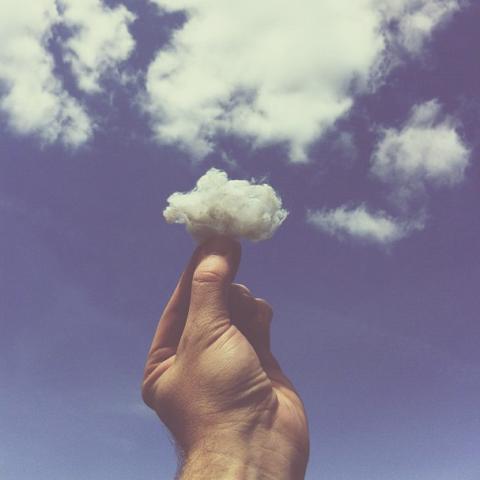 nuvem de algodão